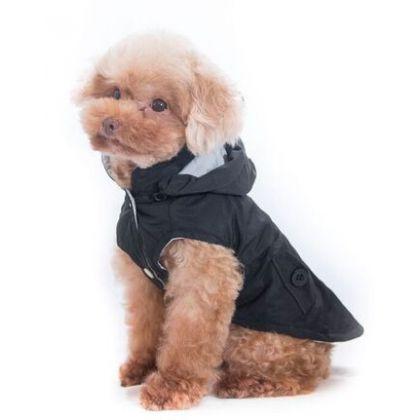 aaaf4cd729b Pet Camelot Dog's Coat Μαύρο - ΡΟΥΧΑ - Pet4u